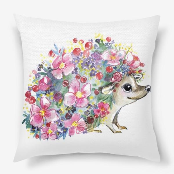 Подушка «цветоёж»