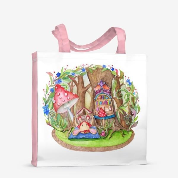Сумка-шоппер «Мышкин домик»