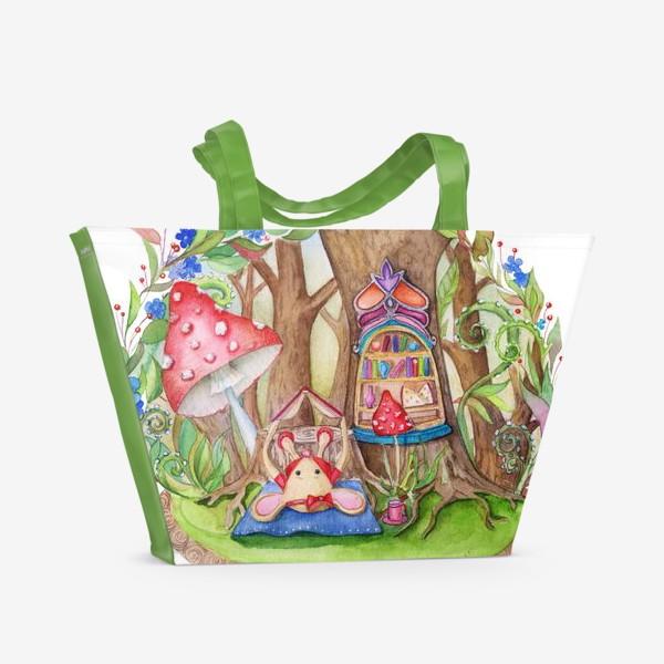 Пляжная сумка «Мышкин домик»