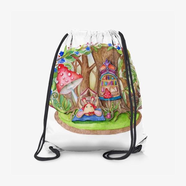 Рюкзак «Мышкин домик»