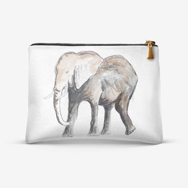 Косметичка «Слон. Сильный и добрый.»