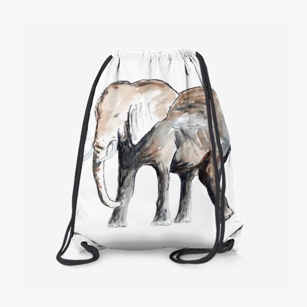 Рюкзак «Слон. Сильный и добрый.»