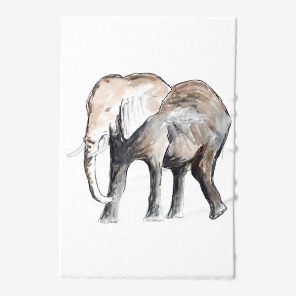 Полотенце «Слон. Сильный и добрый.»