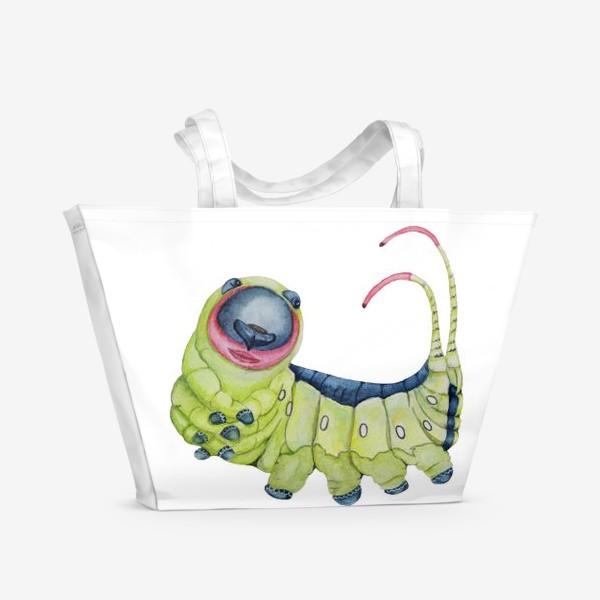 Пляжная сумка «Гусеница»