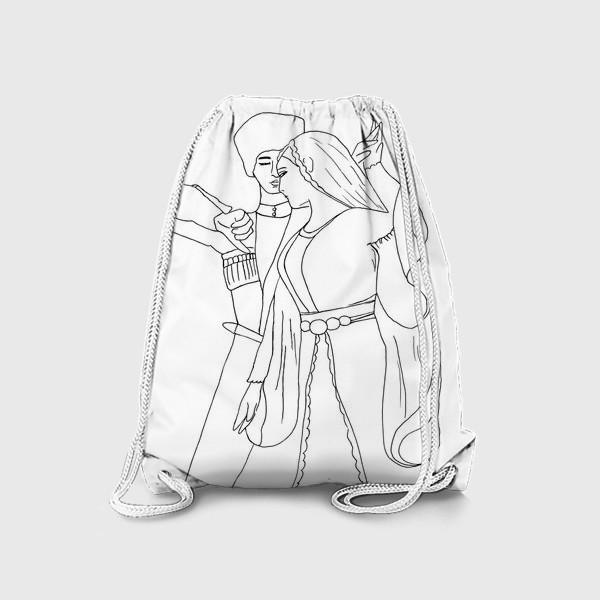 Рюкзак «Кавказкий танец»