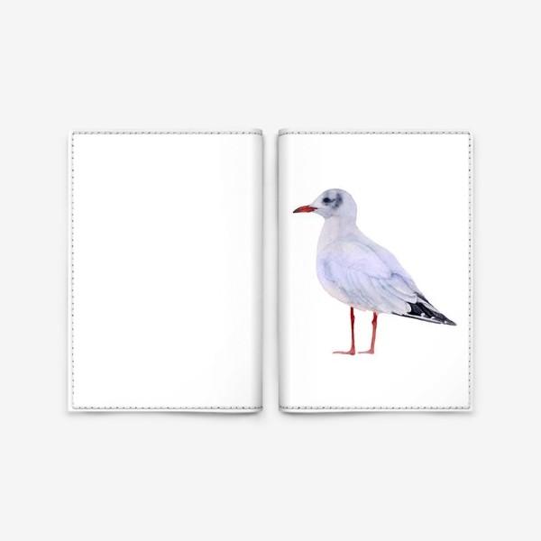 Обложка для паспорта «Чайка»