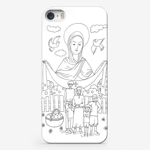 Чехол iPhone «Покров Богородицы»