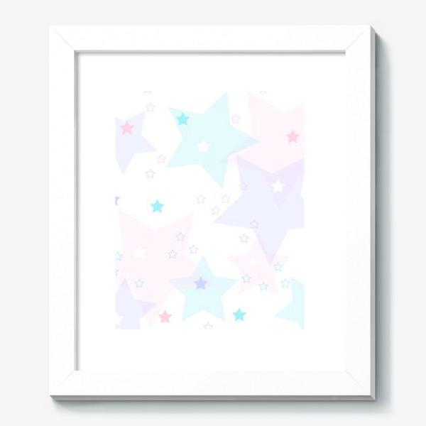 Картина «Нежные прозрачные звезды. Паттерн.»
