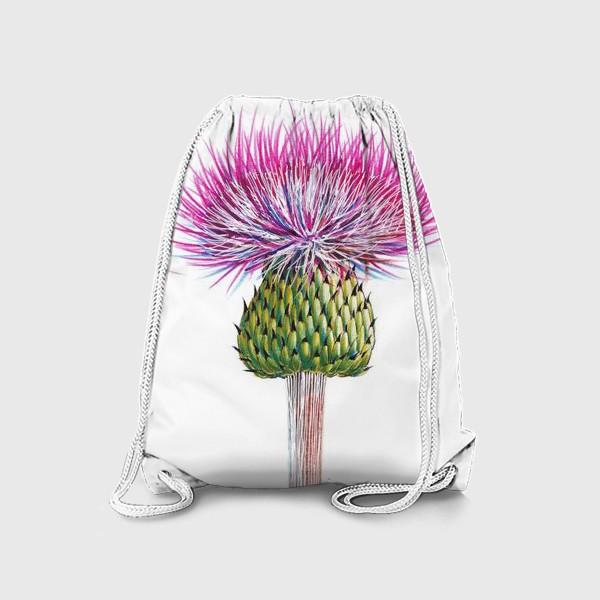 Рюкзак «Цветок Чертополоха»