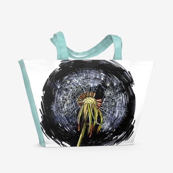 Пляжная сумка «Одуванчик »