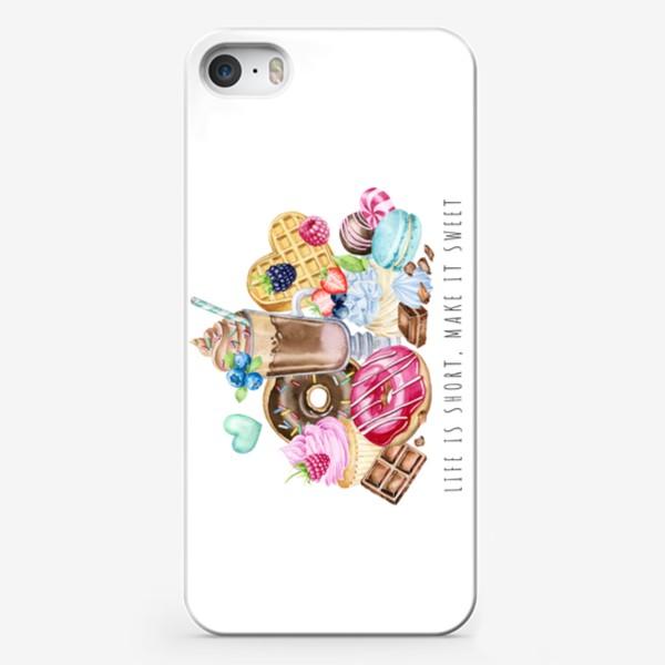 Чехол iPhone «Сладкая жизнь»