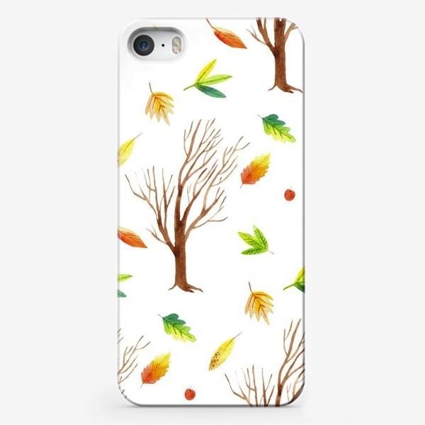 Чехол iPhone «Осенний лес»