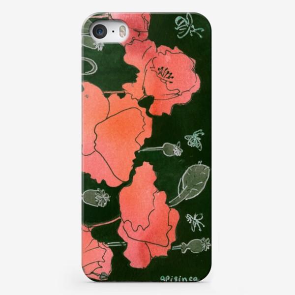 Чехол iPhone «Маки в поле»
