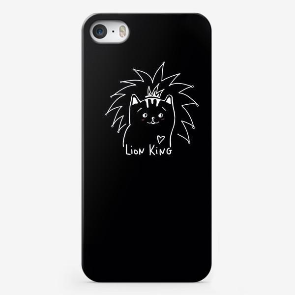 Чехол iPhone «Король Лев. Ласковый и нежный зверь.»