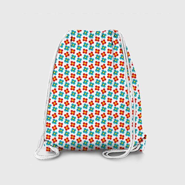 Рюкзак «Паттерн веселые мелкие цветы»