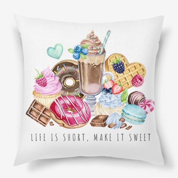 Подушка «Сладкая жизнь»