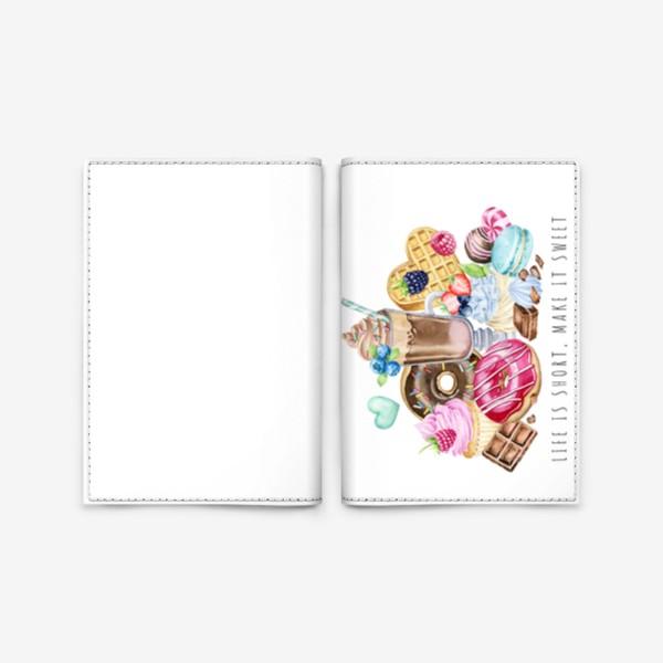 Обложка для паспорта «Сладкая жизнь»