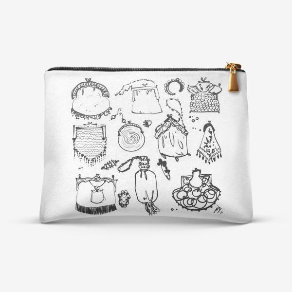 Косметичка «Старинные сумочки»