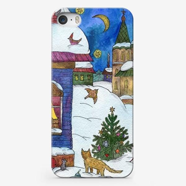 Чехол iPhone «Зимняя сказка»