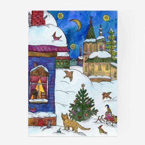 Постер «Зимняя сказка»