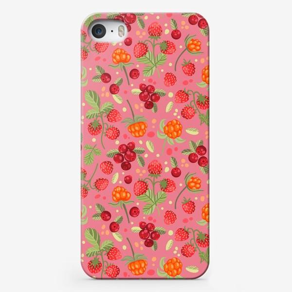 Чехол iPhone «Лесные ягоды»