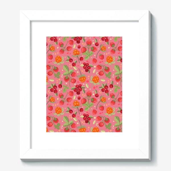 Картина «Лесные ягоды»