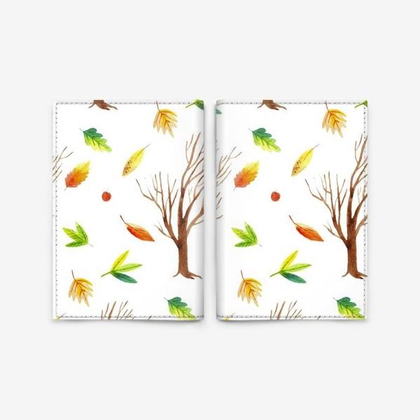 Обложка для паспорта «Осенний лес»