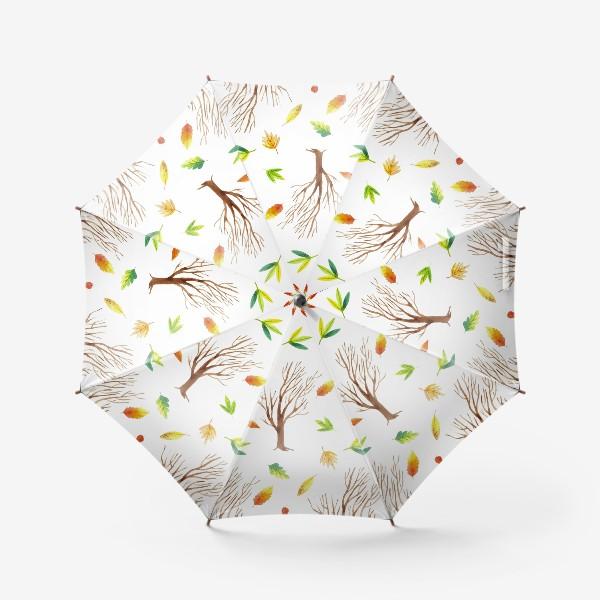 Зонт «Осенний лес»