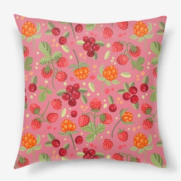 Подушка «Лесные ягоды»