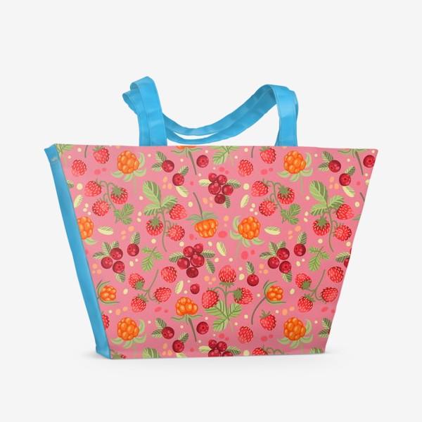 Пляжная сумка «Лесные ягоды»