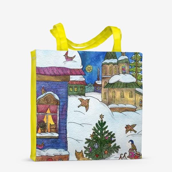 Сумка-шоппер «Зимняя сказка»