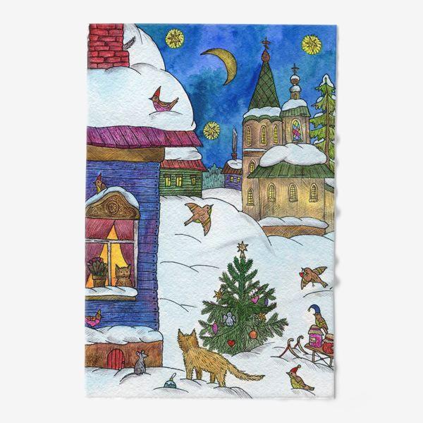 Полотенце «Зимняя сказка»