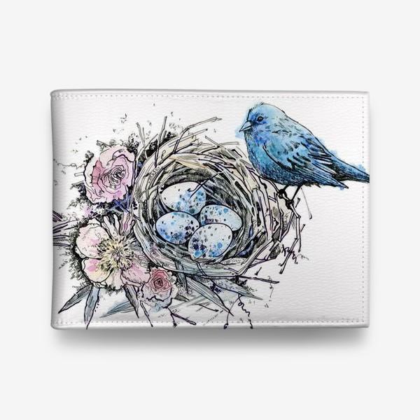 Кошелек «Синий птиц»