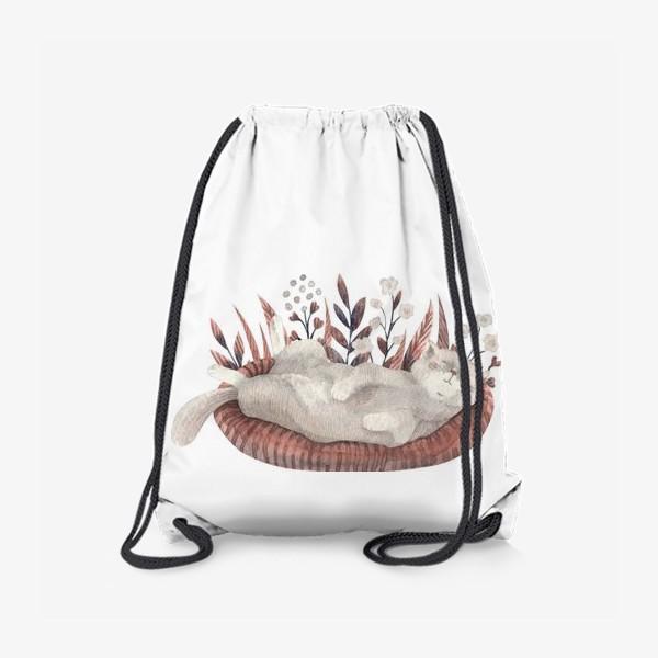 Рюкзак «Спящий котик»