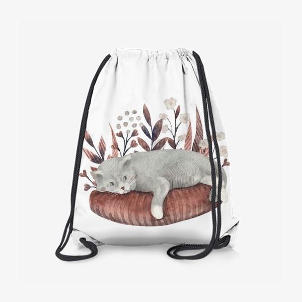 Рюкзак «Отдыхающий котик»