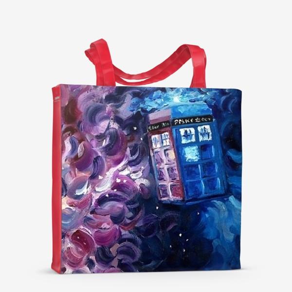 Сумка-шоппер «Doctor WHO, Tardis»