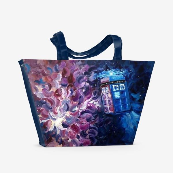Пляжная сумка «Doctor WHO, Tardis»