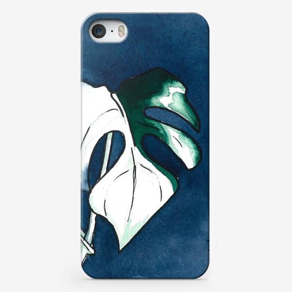 Чехол iPhone «Тропические листья »