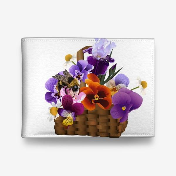 Кошелек «Корзинка с цветами»