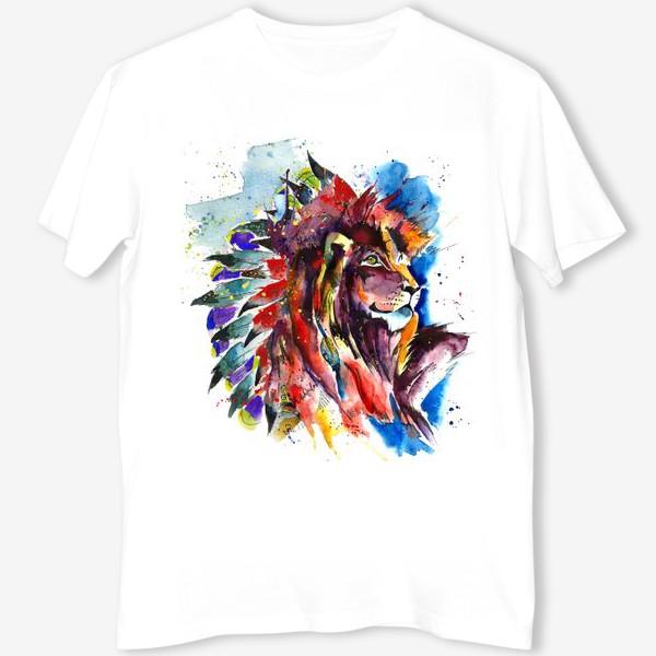 Футболка «lion»