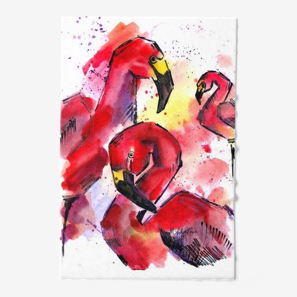 Полотенце «Фламинго flamingo»
