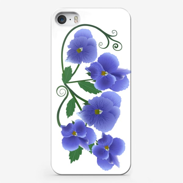 Чехол iPhone «Цветочки.»