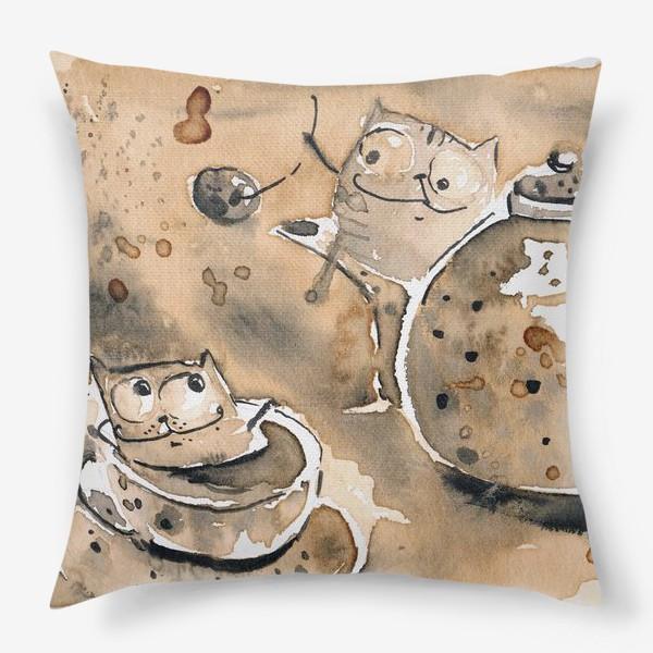 Подушка «Кофе пауза»