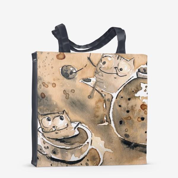 Сумка-шоппер «Кофе пауза»