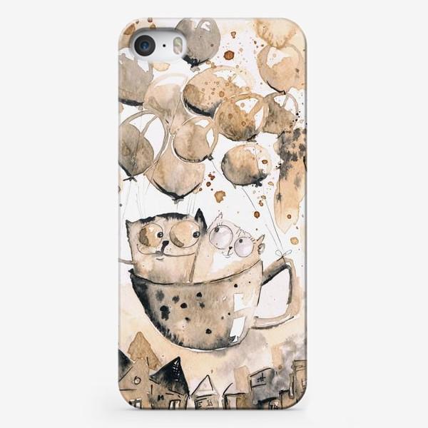 Чехол iPhone «Кофейная любовь»