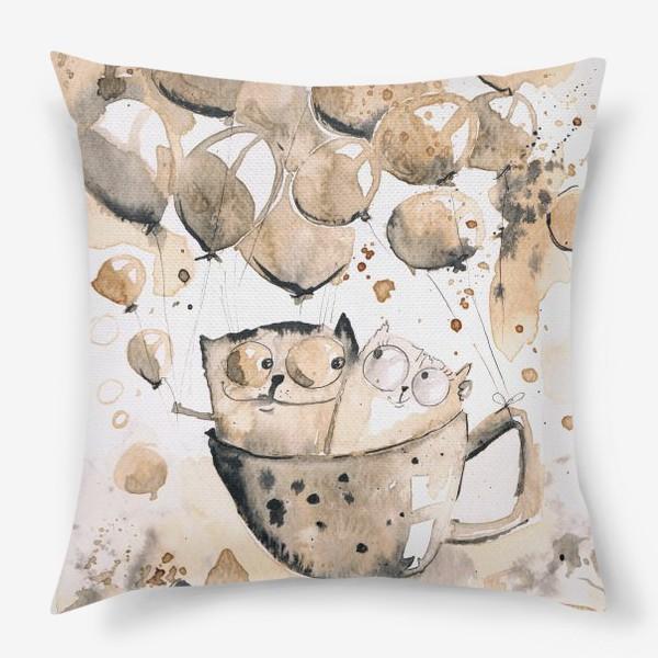 Подушка «Кофейная любовь»