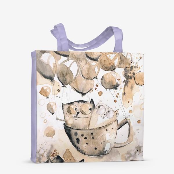 Сумка-шоппер «Кофейная любовь»