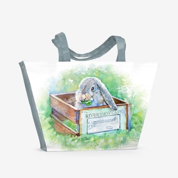 Пляжная сумка «Кролик»
