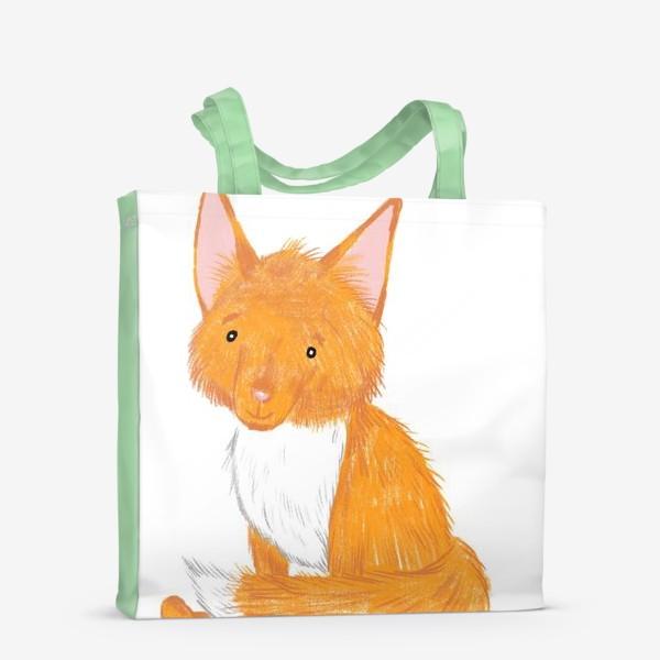Сумка-шоппер «Милый лисёнок»