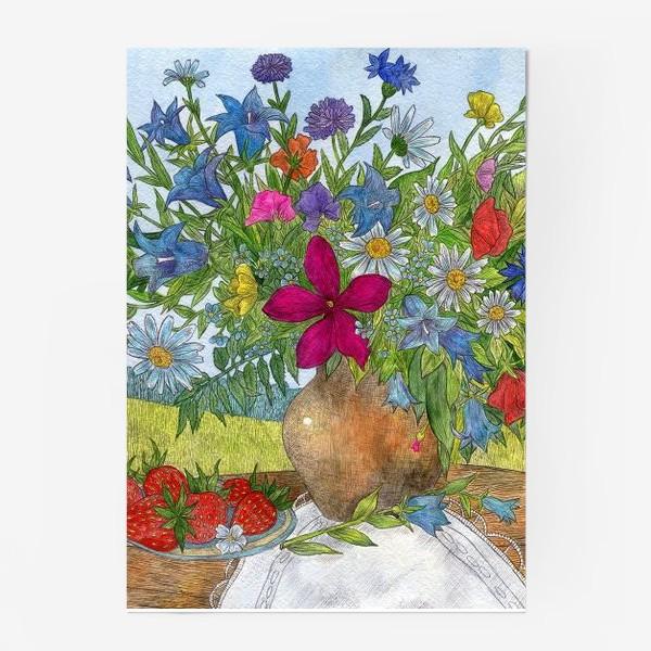 Постер «Букет полевых цветов»